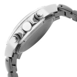 Women's 'Marina' Chronograph White Textured Dial Watch