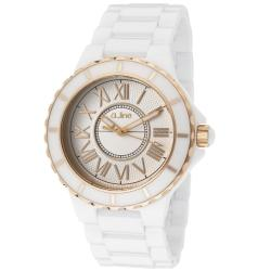 A Line Women's AL-20040-WWWRR Marina Silver Textured Watch