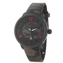 Tendence Men's 'Gulliver Medium' Polycarbonate Stainless Steel Quartz Watch