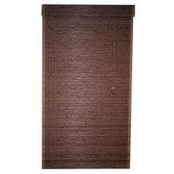 Cyprus Cocoa 60x64-inch Roman Shade 