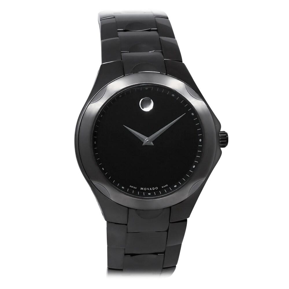 Movado Men's 0606536 Luno Sport Black Watch