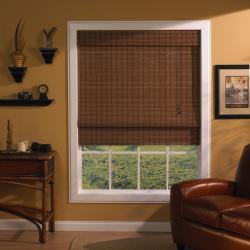 Rio Fruitwood 35x72-inch Roman Shade 