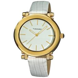 Vernier Women's Retro Wide Oval Dial Watch