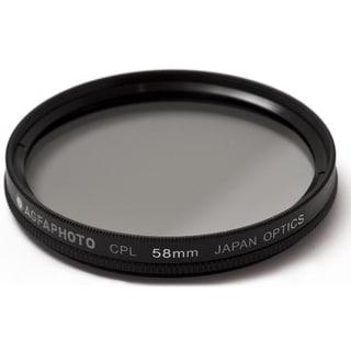 AGFA APCPL58 Polarizing Glass Filter (CPL), 58mm