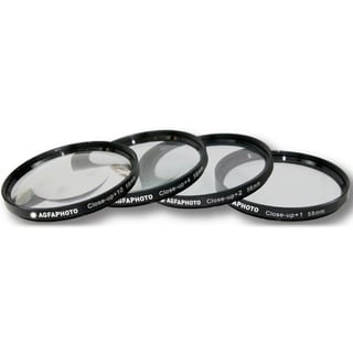 AGFA APCUF458 4-Piece Close-Up Macro Filter Kit 58mm
