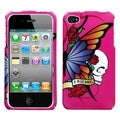 MYBAT Best Friend Hot Pink Case for Apple iPhone 4/ 4S