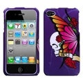MYBAT Best Friend Purple Case for Apple iPhone 4/ 4S