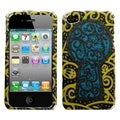 MYBAT Black Key Hole Sparkle Case for Apple iPhone 4/ 4S