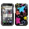 MYBAT Chalkboard Star Black Case for Motorola MB525 Defy