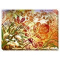 Autumn Abstraction Oversized Gallery Wrapped Canvas