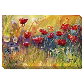 Delightful Poppies II Oversized Gallery Wrapped Canvas