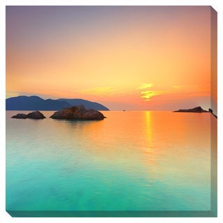 Sunrise over the Ocean Oversized Gallery Wrapped Canvas