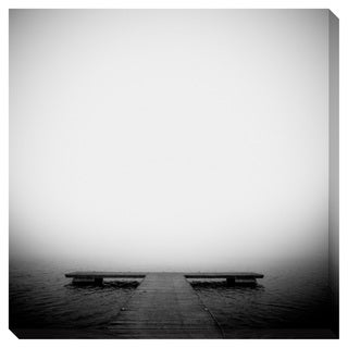 On the Dock Oversized Gallery Wrapped Canvas