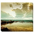 Sea Landscape Oversized Gallery Wrapped Canvas
