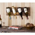Bustillo Wall Mount Wine Storage Rack