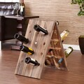 Bustillo 24-Bottle Riddling Wine Rack Display