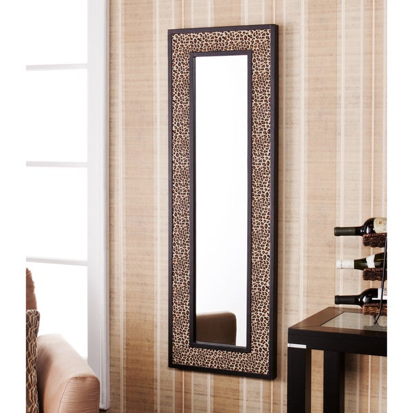 Upton Home Pavia Leopard Animal Print Decorative Wall Mirror