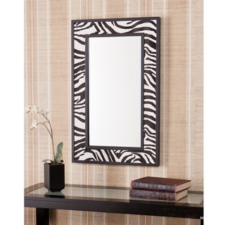 Upton Home Ubina Zebra Animal Print Decorative Wall Mirror