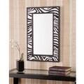 Upton Home Ubina Zebra Animal Print Decorative Wall Mirror