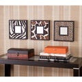 Abana Animal Print Decorative Wall Mirror 3-Pc Set