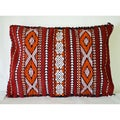 Berber Kilim Wool Pillow Cover (Morocco)
