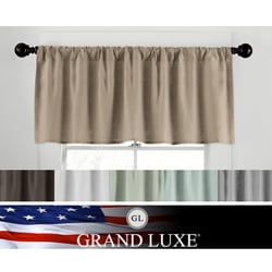 Veratex Grand Luxe Linen Gotham Tailored Valance