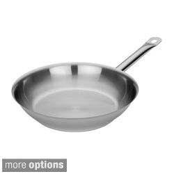 Miu Tri-Ply Stainless Steel and Aluminum 10-inch or 12-inch Open Fry Pan