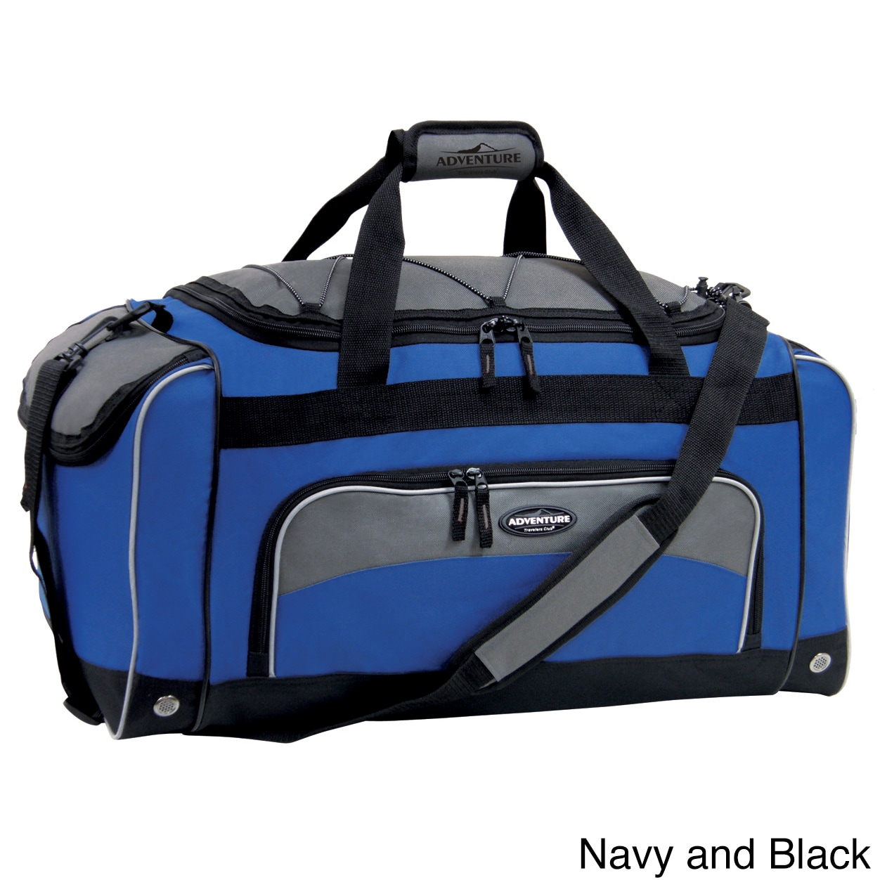Traveler's Club Luggage Traveler's Club Adventurer Duffel Collection 24-inch Sport Duffel with Wet Shoe Pocket at Sears.com