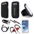 GEARONIC 9-in-1 Bundle Kit for Samsung Galaxy S3/SIII