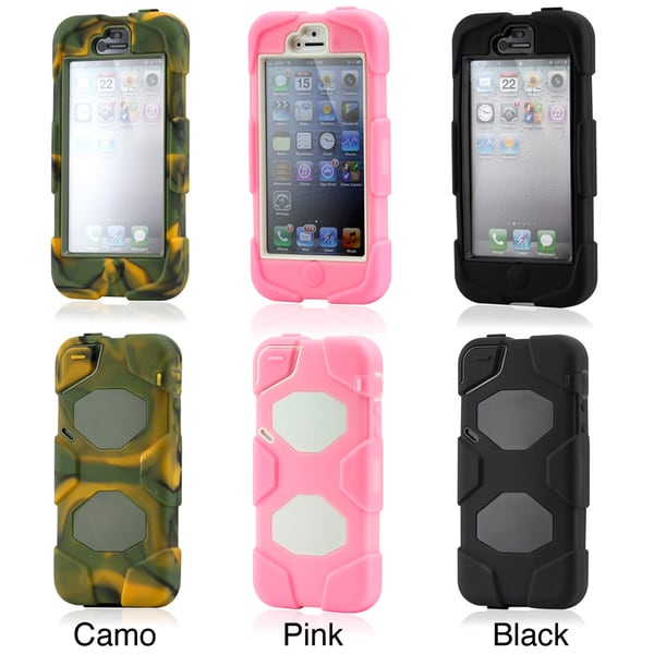 GEARONIC iPhone 5 3-layer Silicone Hard Case