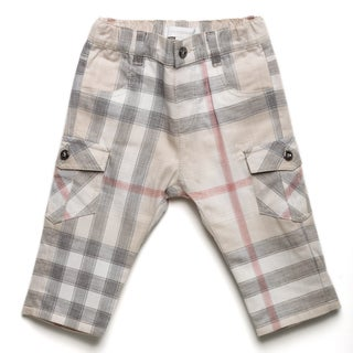 Burberry Boys' 'New Nova' Check Cargo Pants