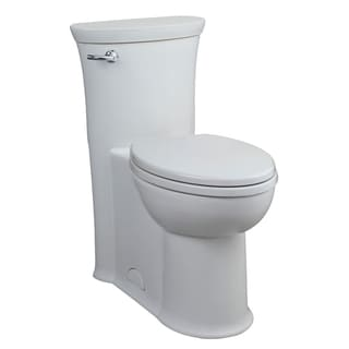 Tropic 1-Piece 1.28 GPF Elongated Toilet in White