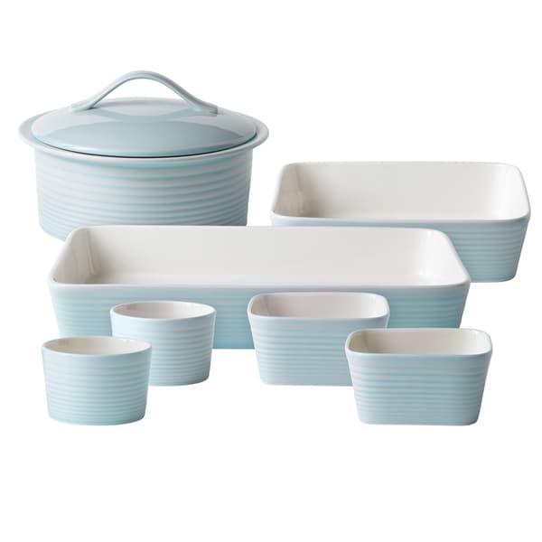 Gordon Ramsay Maze Blue 7-piece Bakeware Set