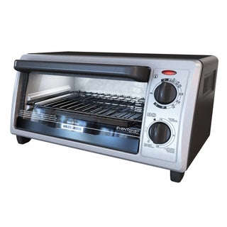 Black & Decker Stainless Steel 4-slice Toaster Oven