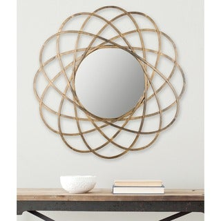 Safavieh Galaxy Wall Antique Gold Mirror