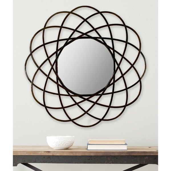 Safavieh Galaxy Wall Warm Amber Mirror