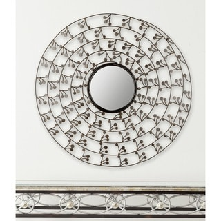 Safavieh Budding Branch Antique Gold Mirror