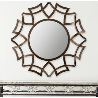 Safavieh Inca Sunburst Copper Bronze Mirror