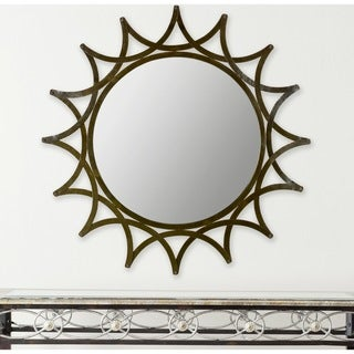 Safavieh New Mayan Star Warm Amber Mirror