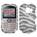 MYBAT Black Zebra Case for Alcatel One Touch 871A
