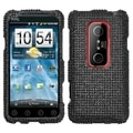 MYBAT Black Diamante Case for HTC EVO 3D/ V 4G