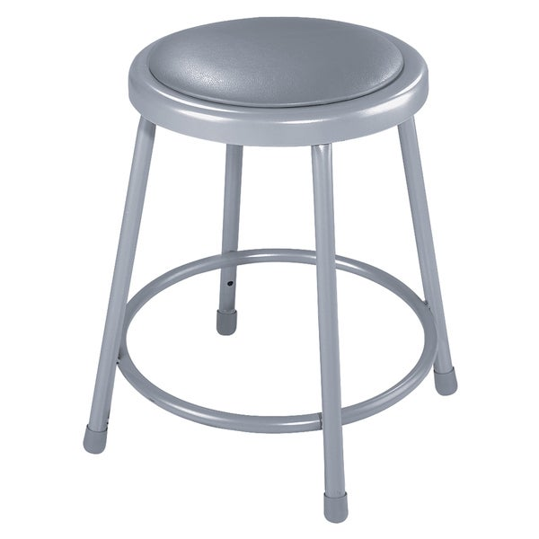 Padded 24 Inch Stool With Vinyl Seat