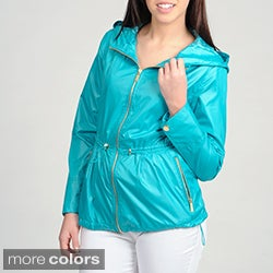 Ivanka Trump Women's Double Drawstring/ Hooded Anorak Jacket