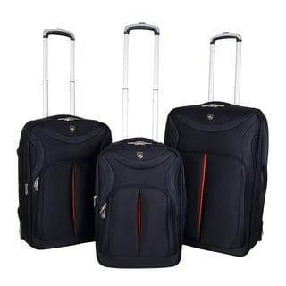 Traveler's Club Sydney Collection 3-piece Sleek-Traveler Luggage Set