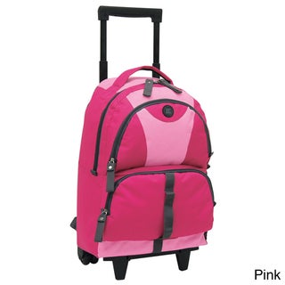 Traveler's Club 18-inch Junior Rolling Backpack