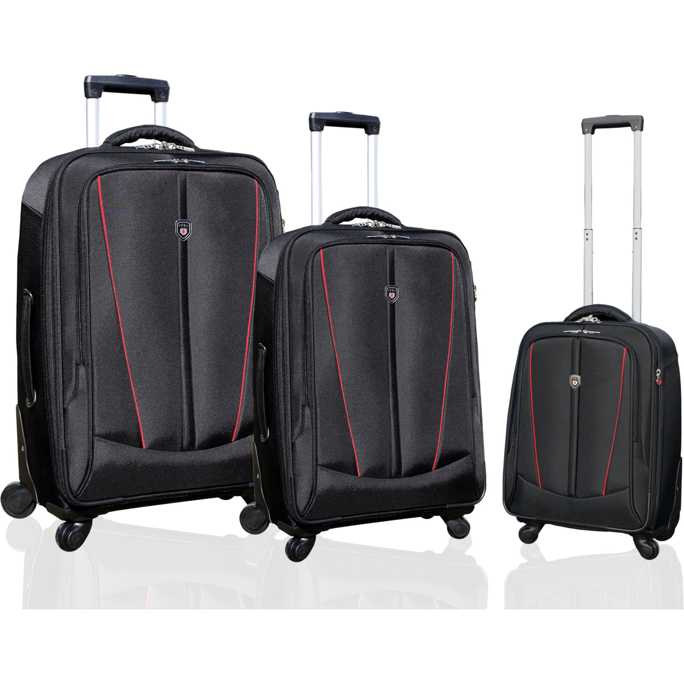 Traveler's Club Luggage Traveler's Club Silhouette Collection 3-piece Heavy Duty Spinner Luggage Set at Sears.com