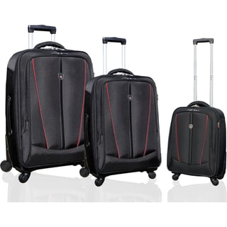 Traveler's Club Silhouette Collection 3-piece Heavy Duty Spinner Luggage Set