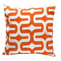 Orange Down Pillow