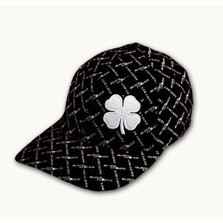 Black Clover Men's Black Chain Link Billed Cap