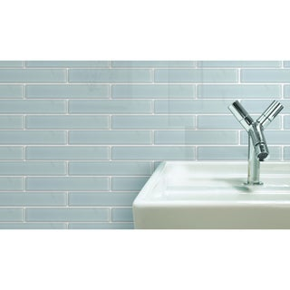Emrytile 'Vetro' 2x12 Solid Rectangular Tiles (Case of 40)